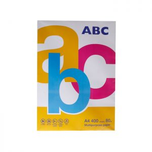 ABC A4 White Paper 80gsm 400 Sheets