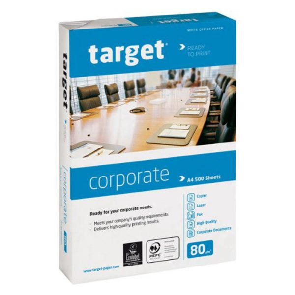Target A4 White Paper 80gsm 500 Sheets
