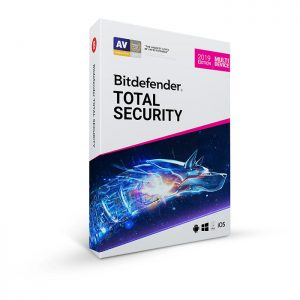 Bitdefender Total Security 2020 1 Year [Digital Download]