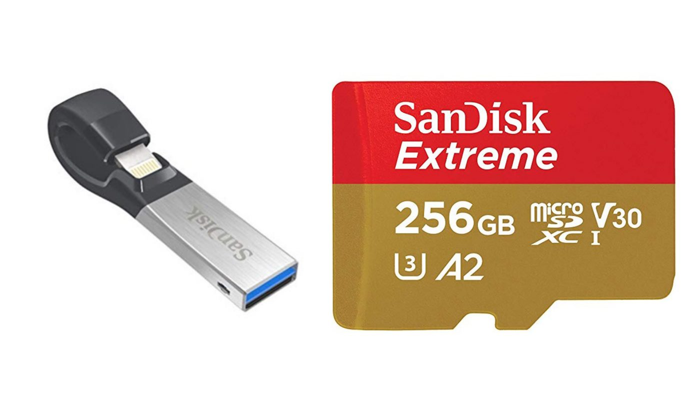 646887 sandisk storage 1400x788 - Need More Storage? SanDisk MicroSD Cards on Sale Now | News & Opinion