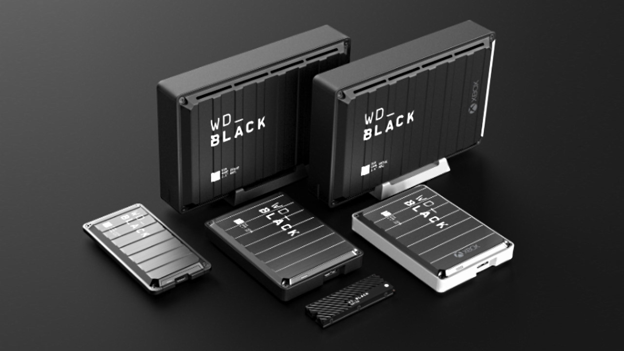 660144 western digital wd black external storage for gaming - Western Digital Launches 5 WD Black External Gaming Drives   News & Opinion