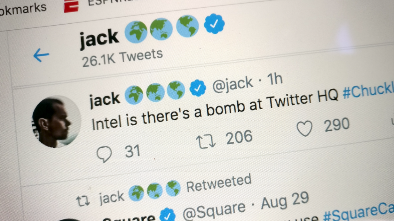 661705 twitter jack - Twitter CEO's Account Hacked, Defaced With Racist Posts