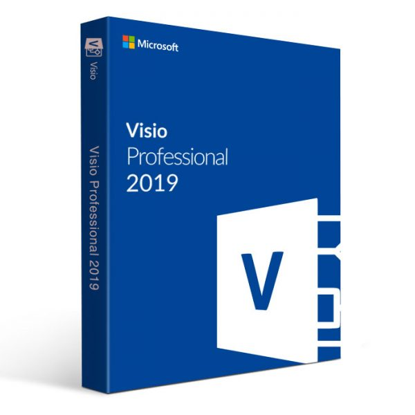 Microsoft Visio 2019 Pro Original License Key [Digital Download]