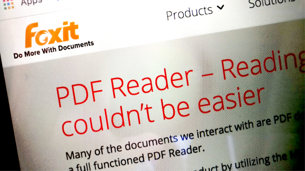 661700 foxit software - Developer Behind Foxit PDF Reader Hit by Data Breach | News & Opinion