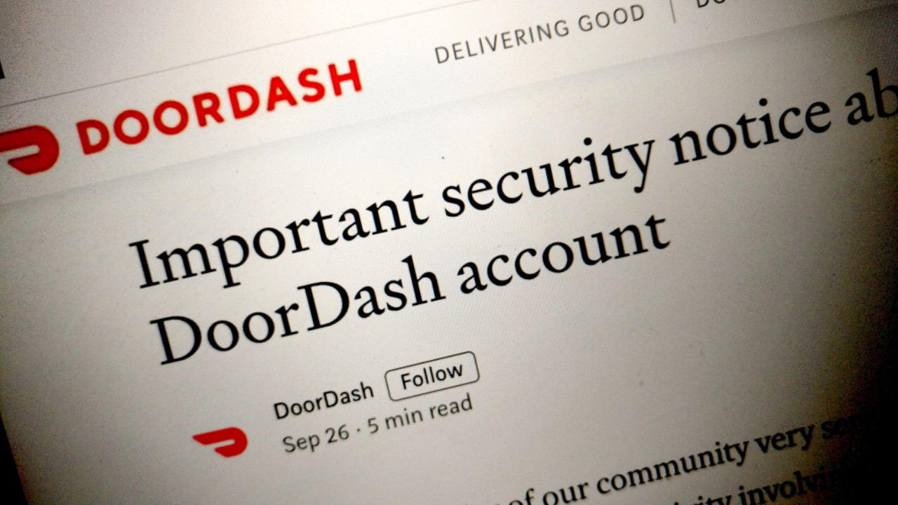 665701 doordash breach - DoorDash Breach Hits 4.9 Million Users, Including Delivery Drivers   News & Opinion
