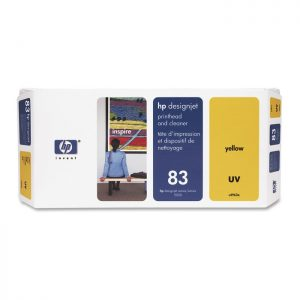 HP 83 Yellow Original Printhead and Printhead Cleaner (C4963A)