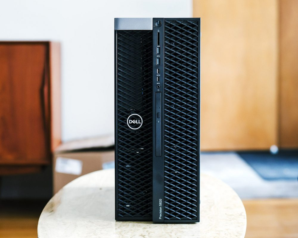 585890 front view 1000x800 - Dell Precision 5820 (2019) Review & Rating