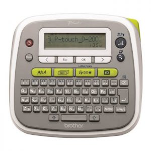 Brother P-touch PT-D200AR English & Arabic Label Printer