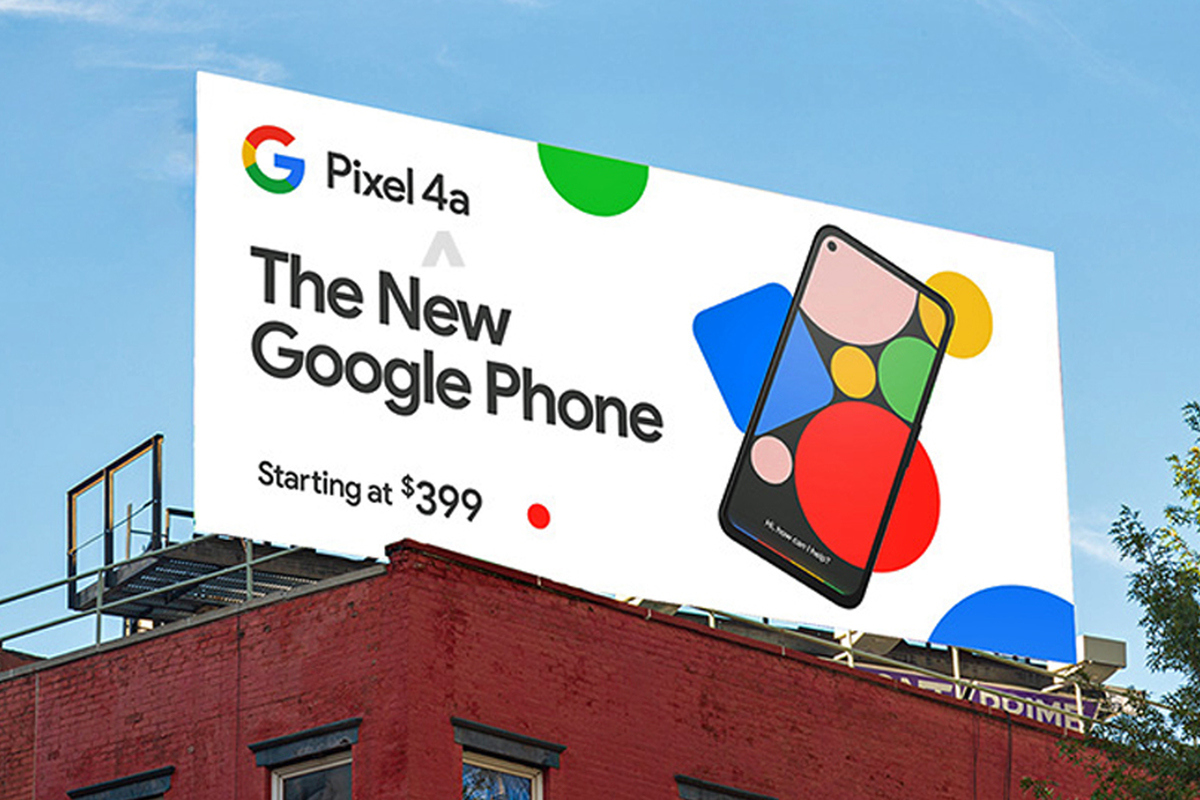 pixel 4a billboard 1 100841464 large.3x2 - Google Pixel 4a preview: The sequel to Android's best bargain of 2019 is on the way