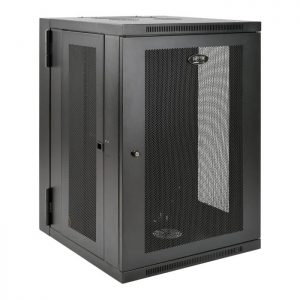SmartRack 18U Wall-Mount Rack Enclosure Cabinet