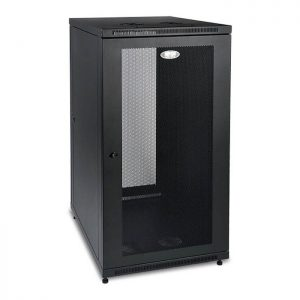 SmartRack 24U Standard-Depth Floor-Standing Rack Enclosure Cabinet