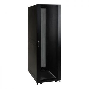 SmartRack 42U Mid-Depth Floor-Standing Rack Enclosure Cabinet