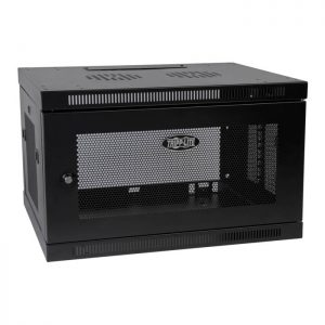 SmartRack 6U Depth Wall-Mount Rack Enclosure Cabinet