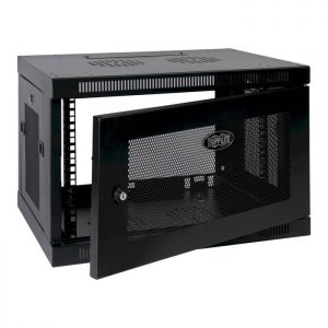 SmartRack 9U Wall-Mount Rack Enclosure Cabinet