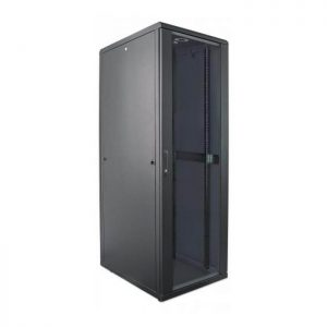 SmartRack 32U Mid-Depth Floor-Standing Rack Enclosure Cabinet