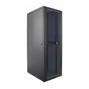 SmartRack 32U Shallow-Depth Floor-Standing Rack Enclosure Cabinet