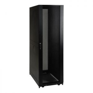 SmartRack 42U Wide Mid-Depth Floor-Standing Rack Enclosure Cabinet