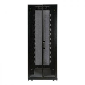 SmartRack 42U Wide Shallow-Depth Floor-Standing Rack Enclosure Cabinet