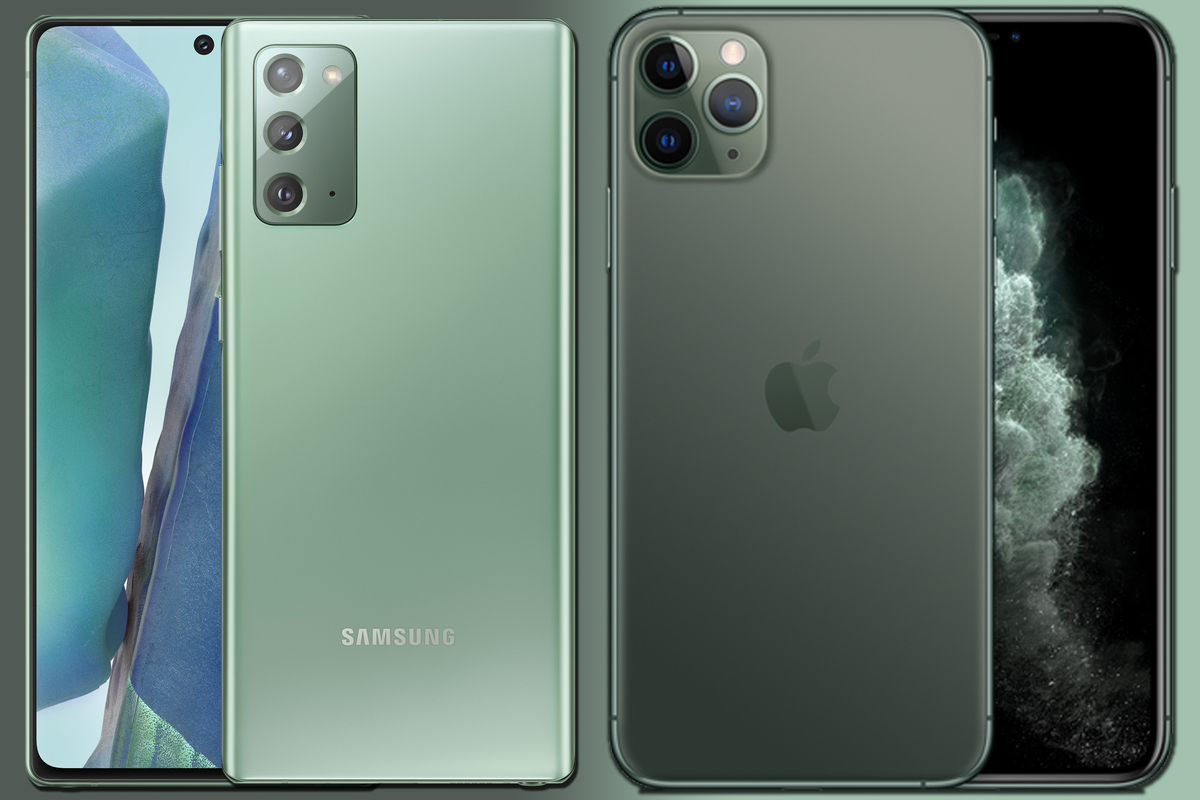 iphone 11 pro note 20 100853760 large.3x2 - Samsung Galaxy Note 20 vs iPhone 11 Pro: This $1,000 spec showdown has a clear winner
