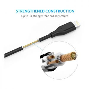 Anker PowerLine Select 6ft Lightning Charging USB Cable