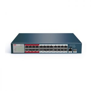 HIKVISION DS-3E0326P-E/M 10/100 Mbps unmanaged switch with 24-Port PoE