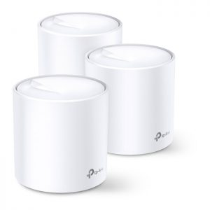 TP-Link Deco X60 AX3000 Whole Home Mesh Wi-Fi 6 System (3 Pack)