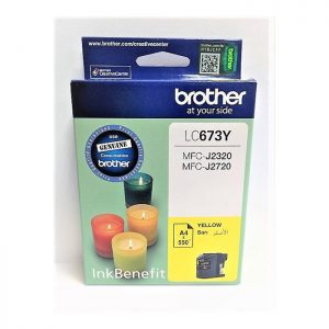 Brother LC673Y Yellow Original Ink