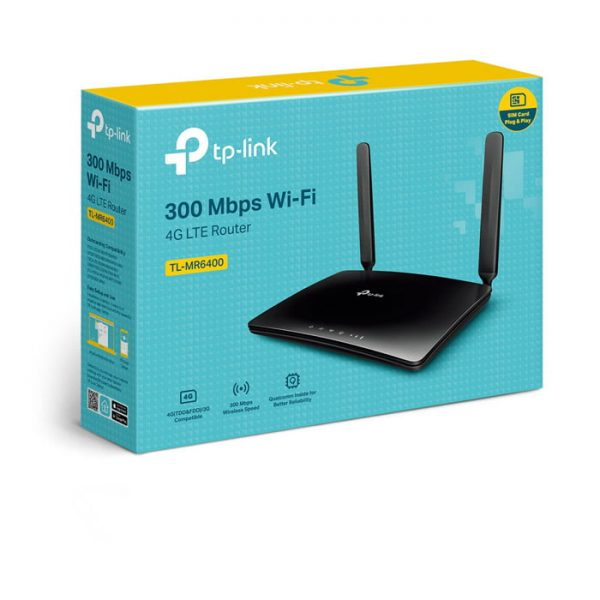 TP-Link TL-MR6400 300 Mbps Wireless N 4G LTE Router