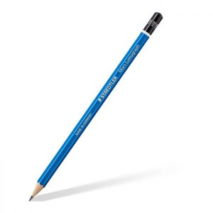 Staedtler Metal Case Containing 24 Pack Drawing Pencils in Assorted Degrees