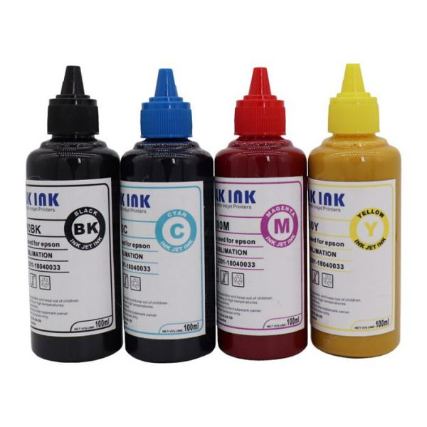 Sublimation Ink for Epson 100 ml – 4 Color Pack