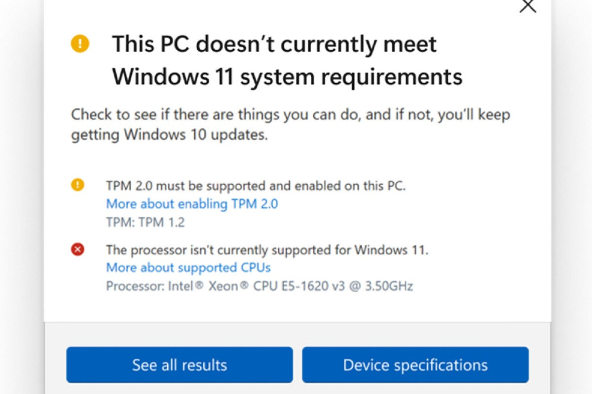 pc health check update 100900740 large.3x2.jpgautowebp - Microsoft backs down: Older PCs will be able to run Windows 11