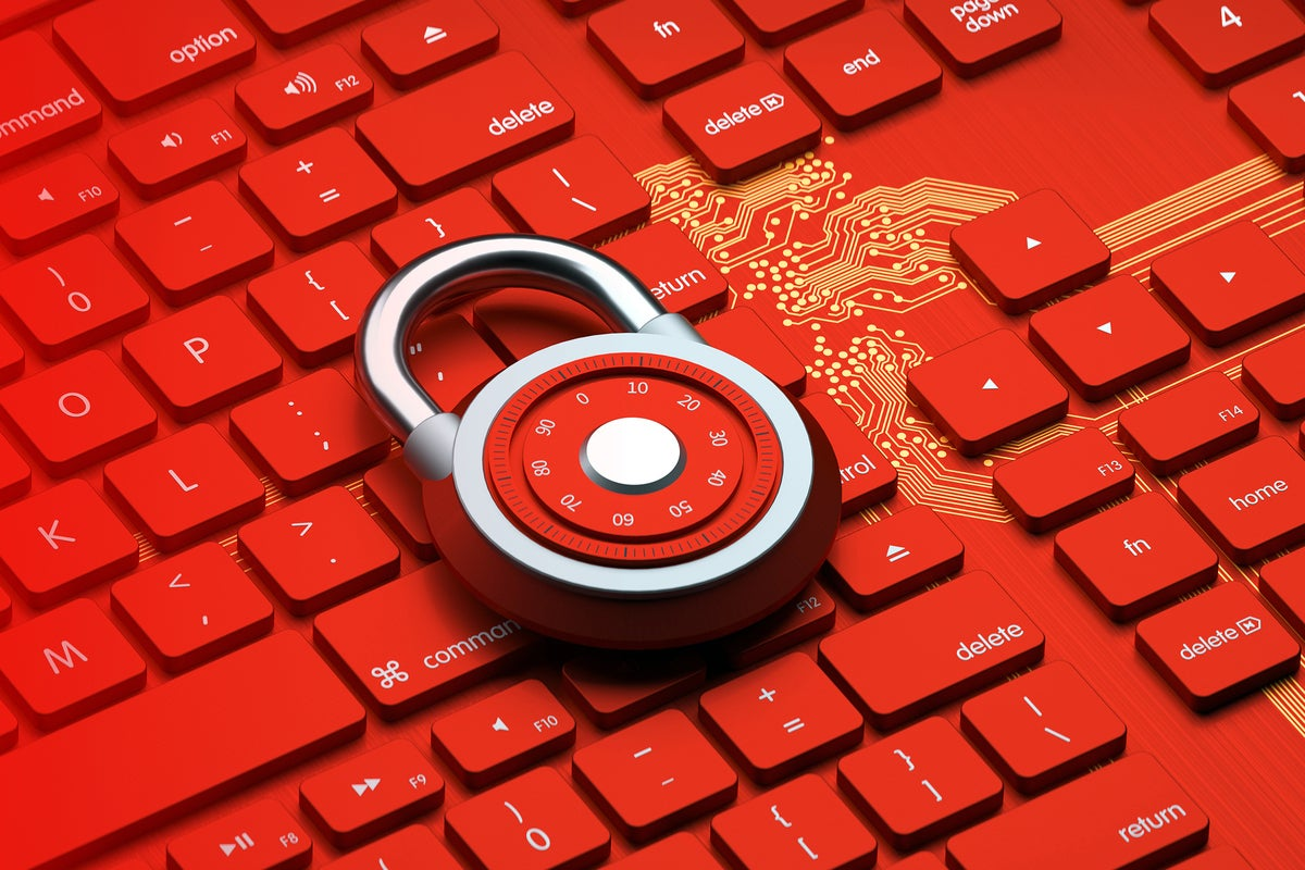 cybersecurity padlock on keyboard and circuit background by gocmen gettyimages 1182849319 2400x1600 100859329 large.3x2.jpgautowebp - 5 easy tasks that supercharge your security